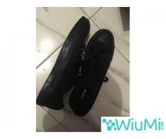 All Black Converse Low's Original