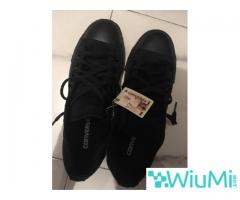 All Black Converse Low's Original - Image 3/3