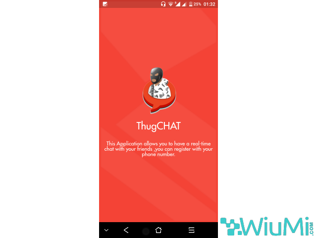 ThugCHAT - Text and Video Chat for Free Android app - 1/1