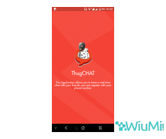 ThugCHAT - Text and Video Chat for Free Android app