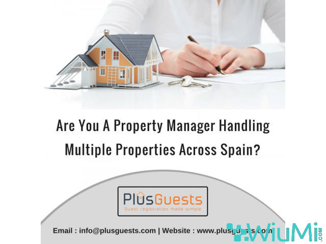 Are you a Property manager handling multiple properties across Spain? - 1/1
