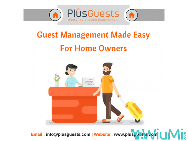 Guest Management Made Easy for Home Owners - 1/1