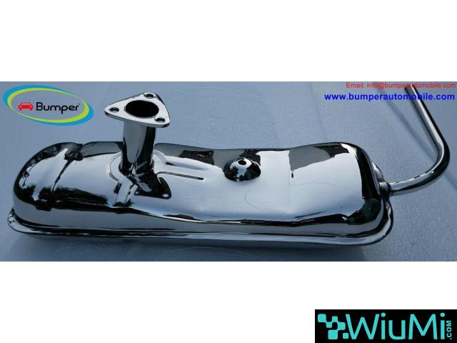 Exhaust for Vespa 400 (1957-1961) by stainless steel - 5/5