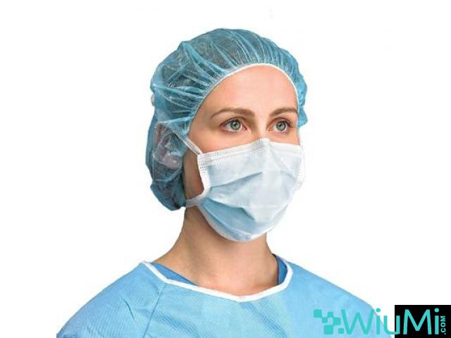 Crosstex Surgical Molded Pink Face Mask   Dukal N95 Particulate Respirators, Folded - 2/3