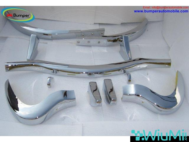 Mercedes 300 SL bumper (1957-1963) by stainless steel - 1/5
