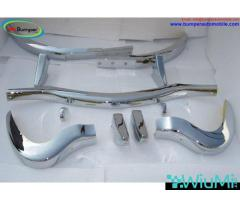 Mercedes 300 SL bumper (1957-1963) by stainless steel - Image 1/5