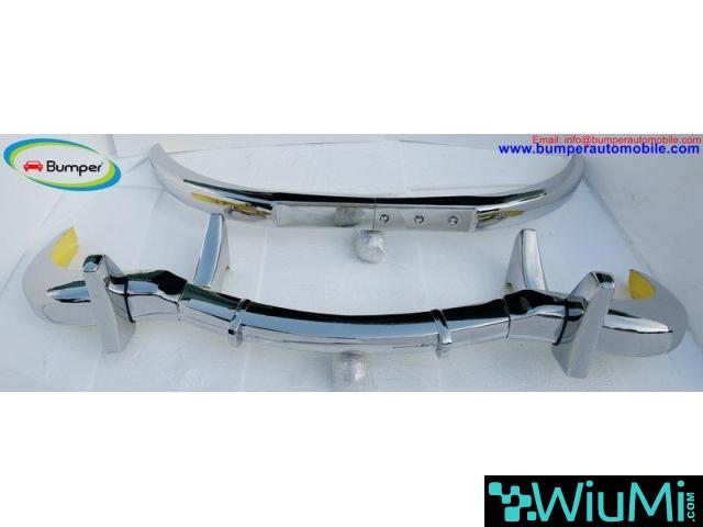 Mercedes 300 SL bumper (1957-1963) by stainless steel - 3/5