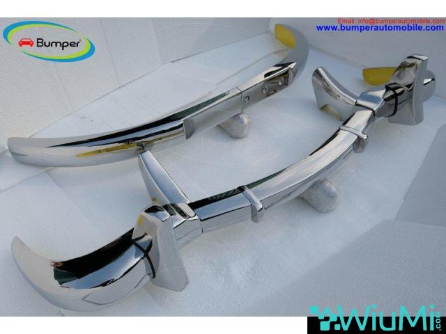Mercedes 300 SL bumper (1957-1963) by stainless steel - 4/5