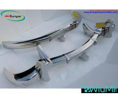 Mercedes 300 SL bumper (1957-1963) by stainless steel - Image 4/5