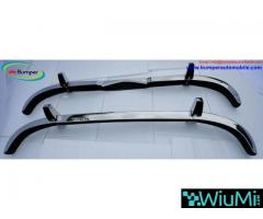 Mercedes Ponton 4 cylinder W120 W121 bumpers (1953-1959 bystainless steel - Image 1/5