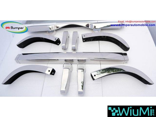 Mercedes Ponton 4 cylinder W120 W121 bumpers (1953-1959 bystainless steel - 2/5