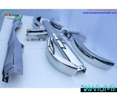 Mercedes Ponton 4 cylinder W120 W121 bumpers (1953-1959 bystainless steel - Image 3/5