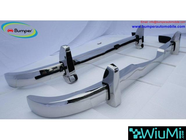Mercedes Ponton 4 cylinder W120 W121 bumpers (1953-1959 bystainless steel - 5/5