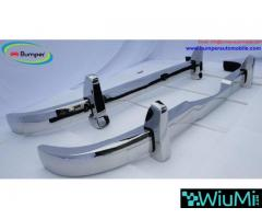 Mercedes Ponton 4 cylinder W120 W121 bumpers (1953-1959 bystainless steel - Image 5/5