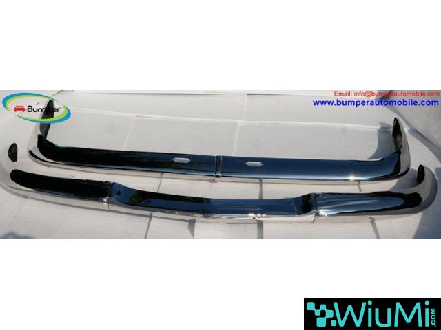 BMW 2000 CS bumper (1965-1969 by stainless steel - 1/3