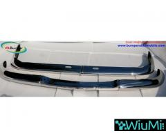 BMW 2000 CS bumper (1965-1969 by stainless steel - Image 1/3