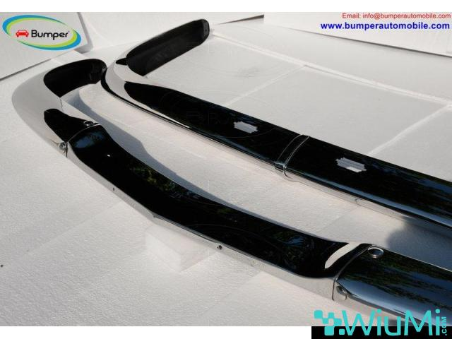 BMW 2000 CS bumper (1965-1969 by stainless steel - 3/3