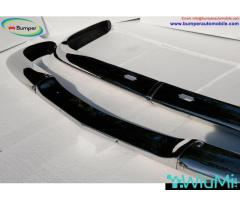 BMW 2000 CS bumper (1965-1969 by stainless steel - Image 3/3