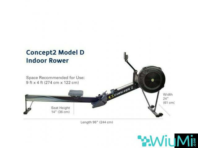Concept 2 rowing machine model D PM5 - 1/2