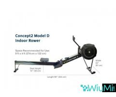 Concept 2 rowing machine model D PM5 - Image 1/2
