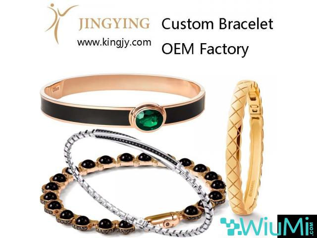 Custom ring gold plated silver jewelry supplier and wholesaler - 1/1
