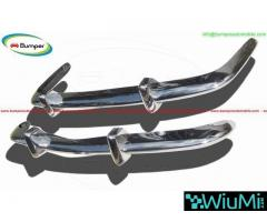 Volkswagen Karmann Ghia Euro style bumper (1970-1971) by stainless steel - Image 2/4