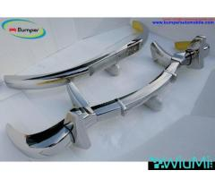 Mercedes 300SL gullwing coupe bumper (1954-1957) - Image 2/5