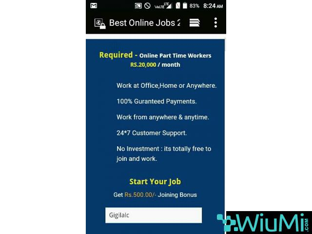 We are Hiring - Earn Rs.15000/- Per month - Simple Copy Paste Jobs - 2/5