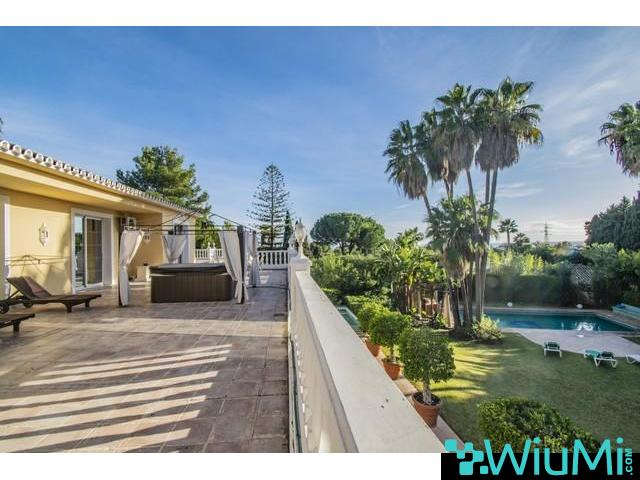 HOUSE FOR RENT -SIERA BLANCA,MARBELLA ( 1000€ PER DAY) - 4/5