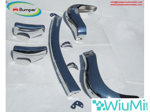 Bumpers & Parts for 190 SL Roadster W121 (1955-1963)  by stainless steel - 2/5