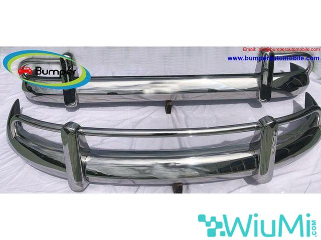 VW T1 Split Screen Bus (1958-1968) USA Front and Back bumper - 1/2