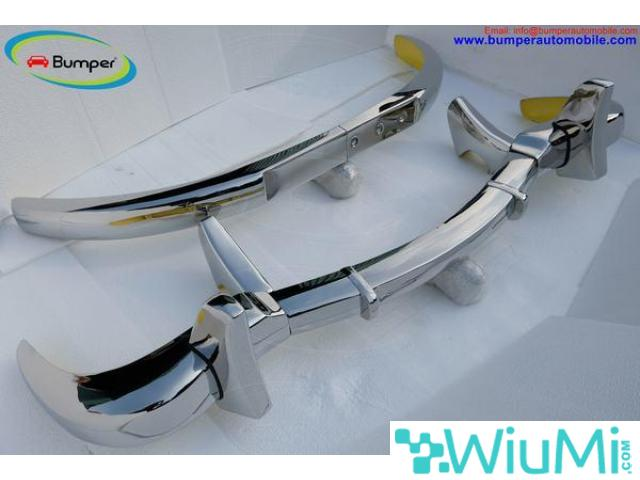 Mercedes Benz 300SL gullwing coupe bumper (1954-1957) Stainless steel Polished SUS 304 - 1/5