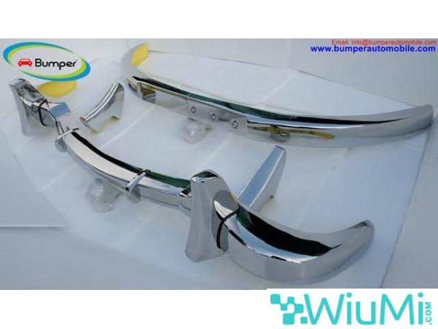 Mercedes Benz 300SL gullwing coupe bumper (1954-1957) Stainless steel Polished SUS 304 - 2/5