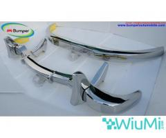 Mercedes Benz 300SL gullwing coupe bumper (1954-1957) Stainless steel Polished SUS 304 - Image 2/5