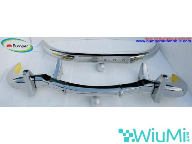Mercedes Benz 300SL gullwing coupe bumper (1954-1957) Stainless steel Polished SUS 304 - 3/5