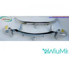 Mercedes Benz 300SL gullwing coupe bumper (1954-1957) Stainless steel Polished SUS 304 - Image 3/5