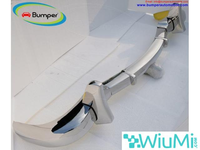 Mercedes Benz 300SL gullwing coupe bumper (1954-1957) Stainless steel Polished SUS 304 - 4/5