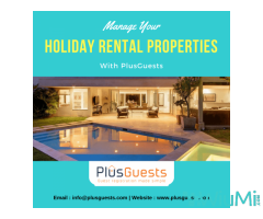 Manage your holiday Rental properties with PlusGuests