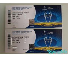 Champions League Final 2018 Football Tickets | Real Madrid vs Liverpool