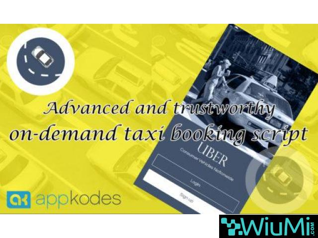 40% Offer Launching a Taxi & Cab Booking  Mobile App - 1/1
