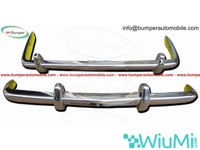 Bentley T1 Year  (1965-1977) Front + Rear Bumper Complete Kit - 1/5