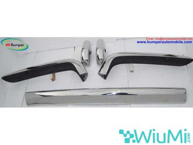Bentley T1 Year  (1965-1977) Front + Rear Bumper Complete Kit - 3/5