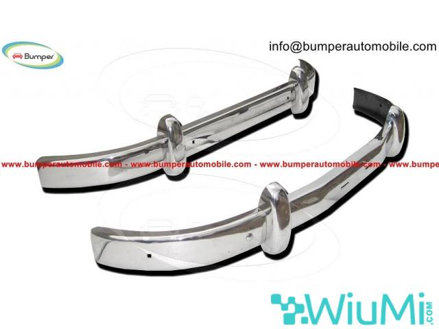 Front and Rear Saab 93 Year 1956-1959 Bumper Complete Kit - 1/3