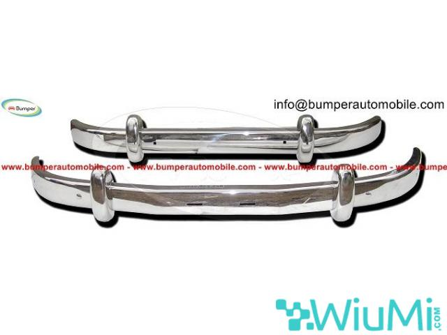 Front and Rear Saab 93 Year 1956-1959 Bumper Complete Kit - 3/3