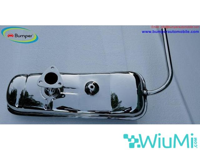 Vehicle Parts Exhaust for Vespa 400 Year 1957-1961 - 1/5