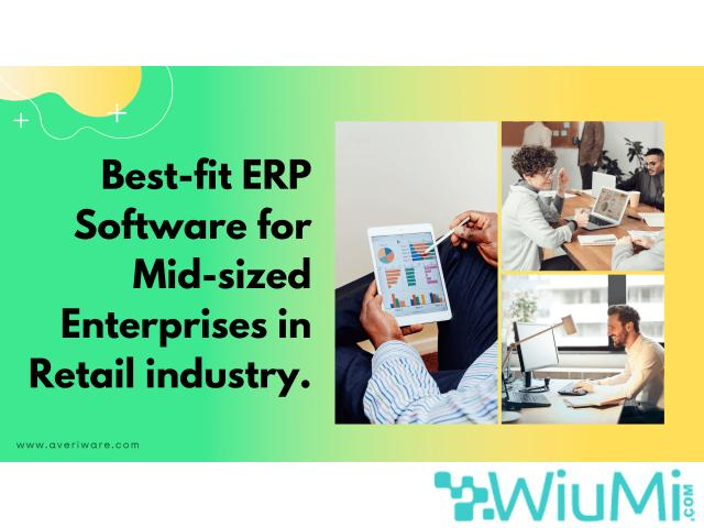 Find the best ERP Retail Software Management - Averiware - 1/1