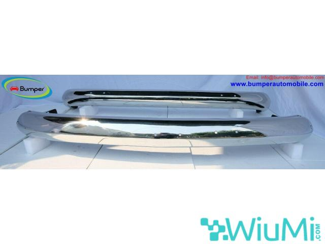 Vehicle Parts Volkswagen T2 Bay Window Bus (1968-1972) bumper by stainless steel - 1/5