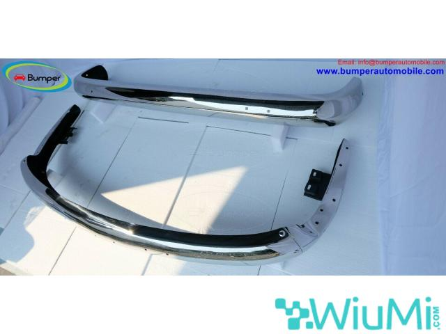 Vehicle Parts Volkswagen T2 Bay Window Bus (1968-1972) bumper by stainless steel - 3/5