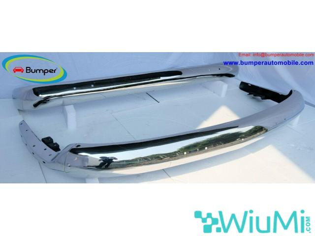 Vehicle Parts Volkswagen T2 Bay Window Bus (1968-1972) bumper by stainless steel - 4/5