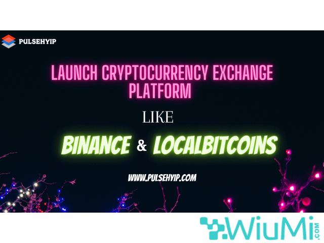 Start your Own Crypto Exchange like Binance and Localbitcoins - 1/1